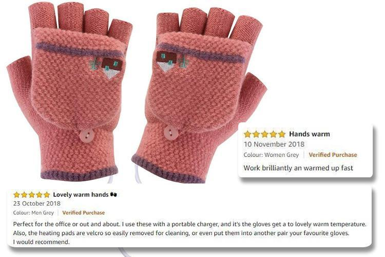 You can buy heated mittens for £7 which you can charge up on the go and get five stars on Amazon