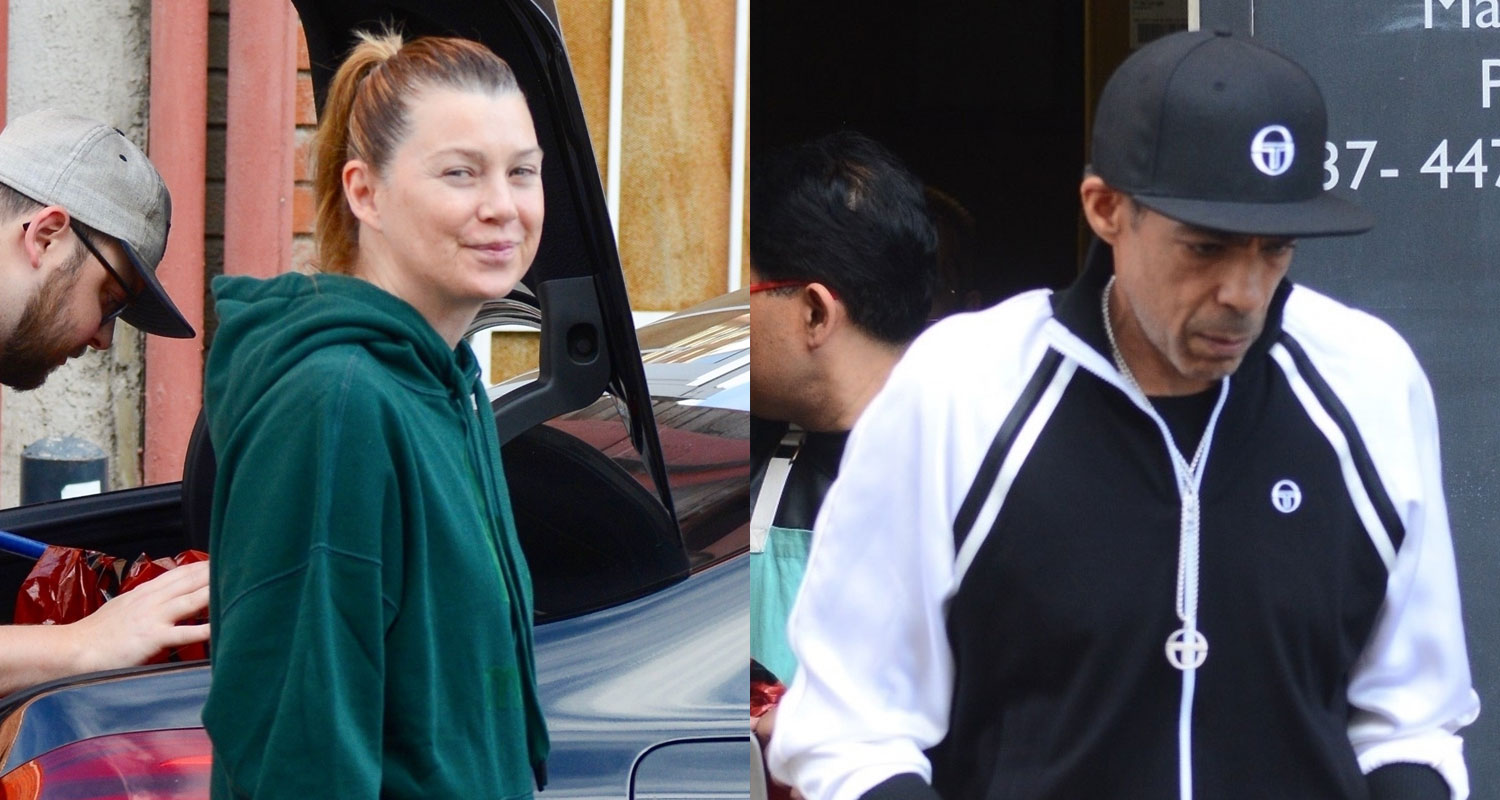 Ellen Pompeo & Husband Chris Ivery Get Their Christmas Shopping Done!