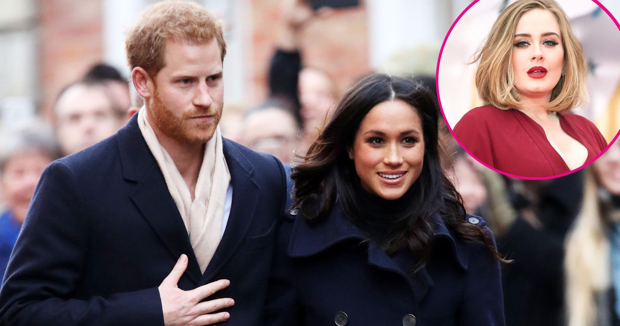 Prince Harry, Duchess Meghan, Adele Visit Community Kitchen