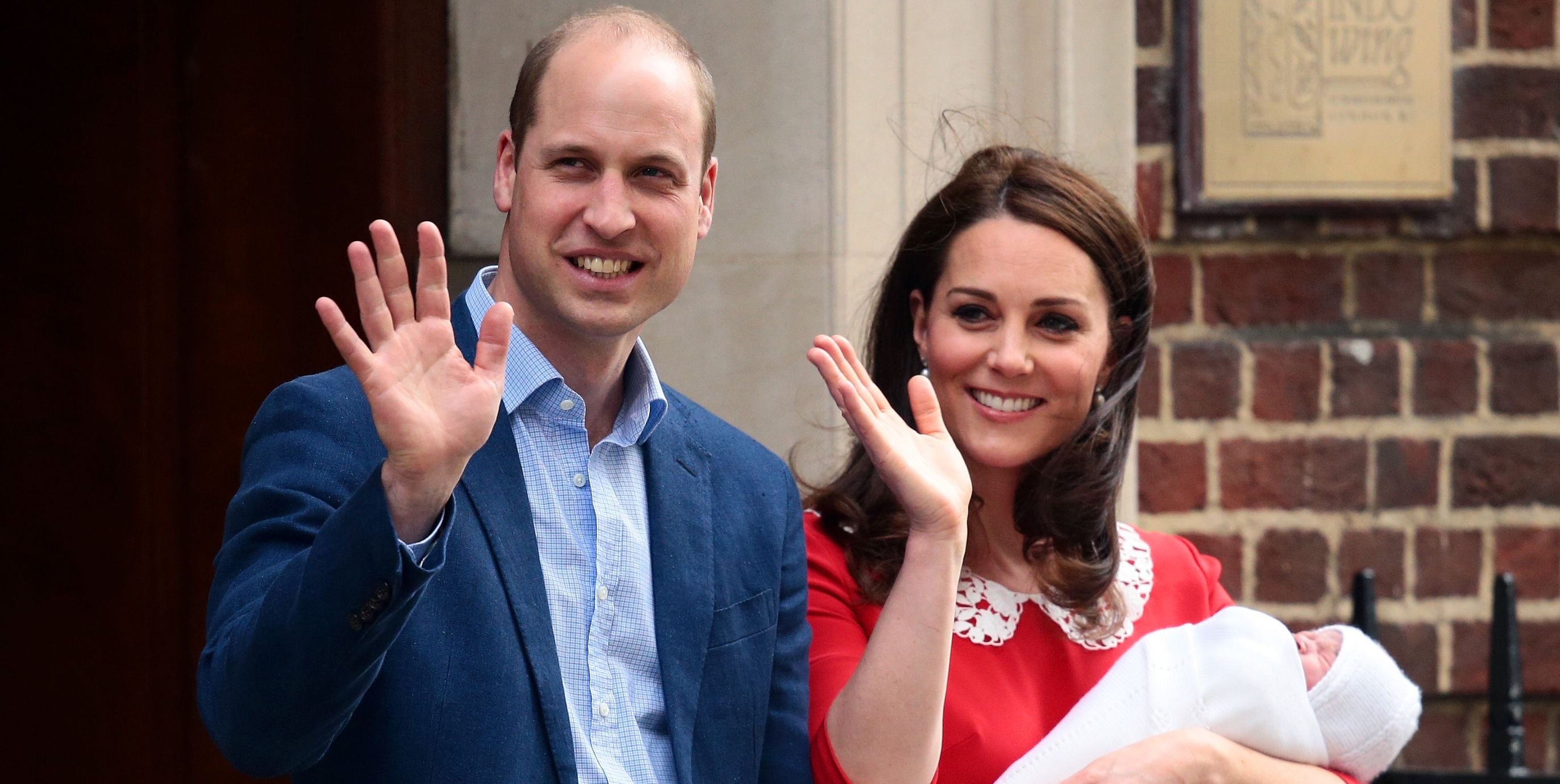 Kate Middleton Says Prince Louis Is Practicing His Royal Wave