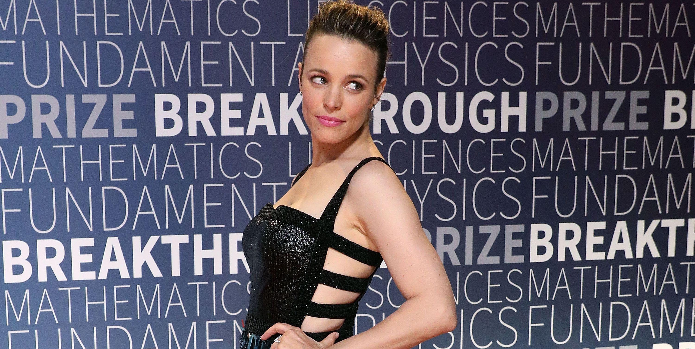 Rachel McAdams Wears a Breast Pump & Versace in a Badass Photo Shoot