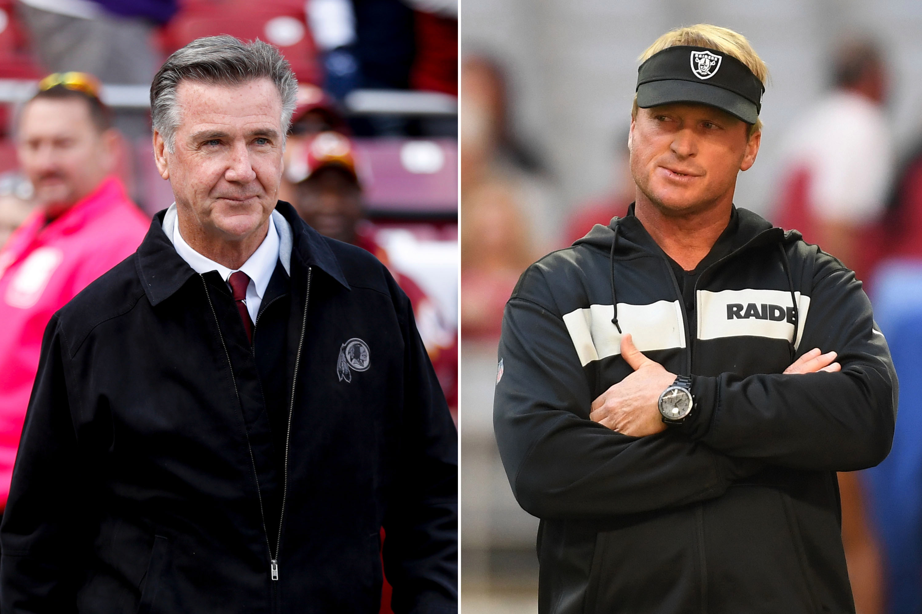 Jon Gruden's Raiders GM hunt is not off to a promising start