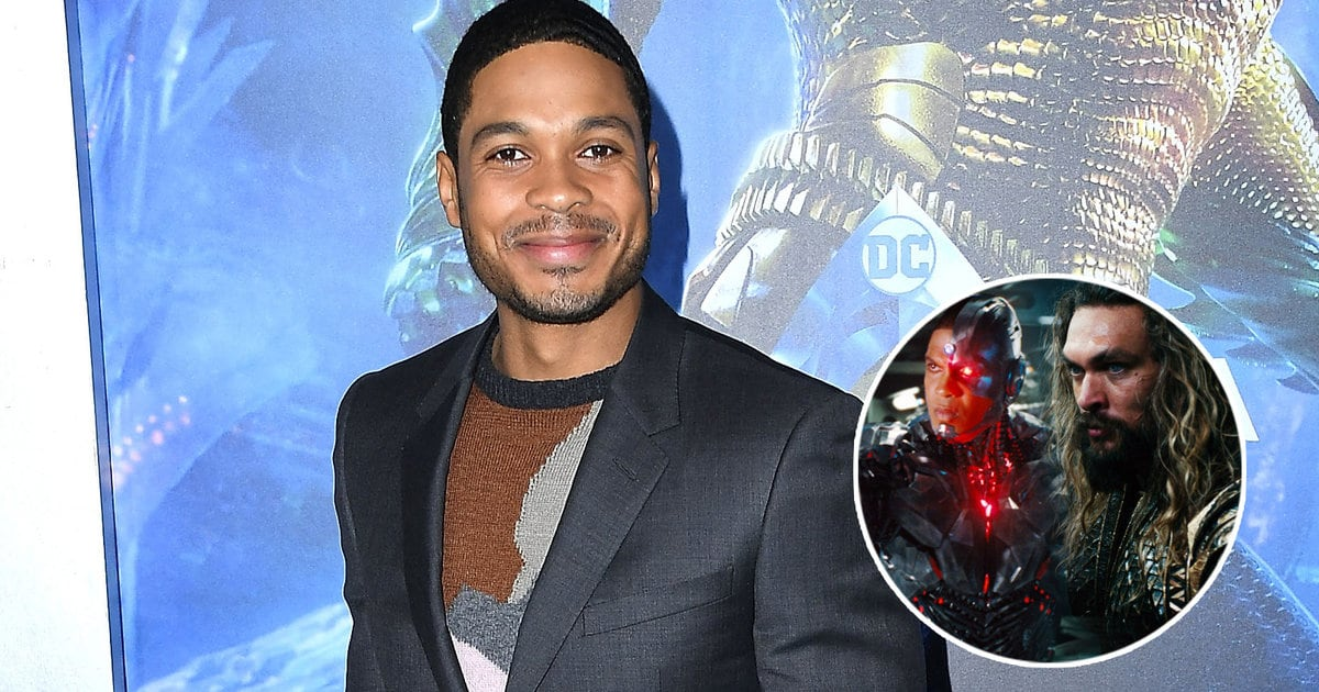 Why Jason Momoa Gave Ray Fisher a Stern Talking to While Filming 'Justice League' (Exclusive)