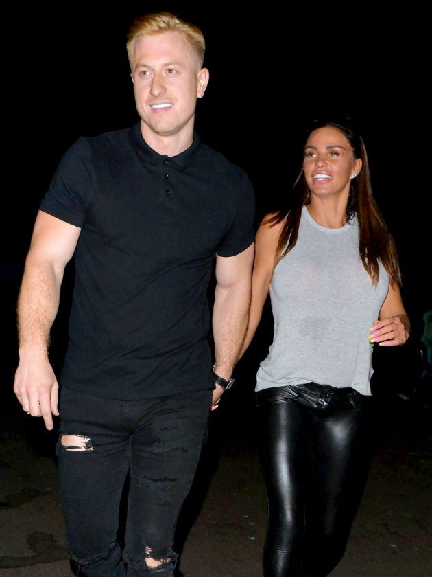 Kris Boyson speaks on rumours he's engaged to Katie Price with this pic
