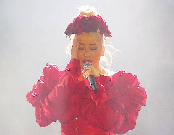 Christina Aguilera Simulates Oral Sex in Wild Birthday Party Photo