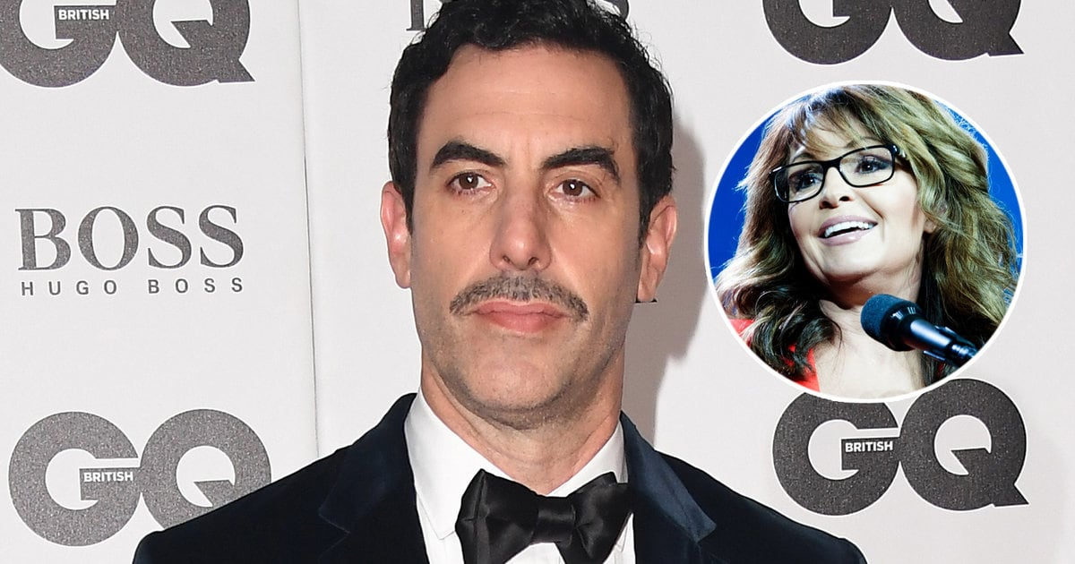 Sacha Baron Cohen Invites Sarah Palin to Be His Golden Globes Date