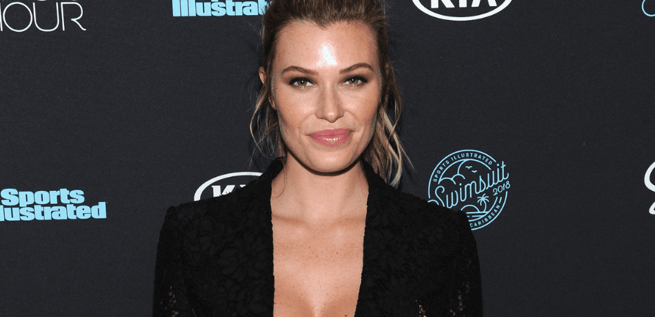 Samantha Hoopes Shares Sexy Slo-Mo Video On Instagram While Wearing A Black Bikini