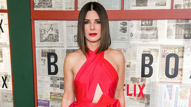Sandra Bullock, 54, Is Absolutely Stunning In Gorgeous Red Gown With Chest Cutout — Pic