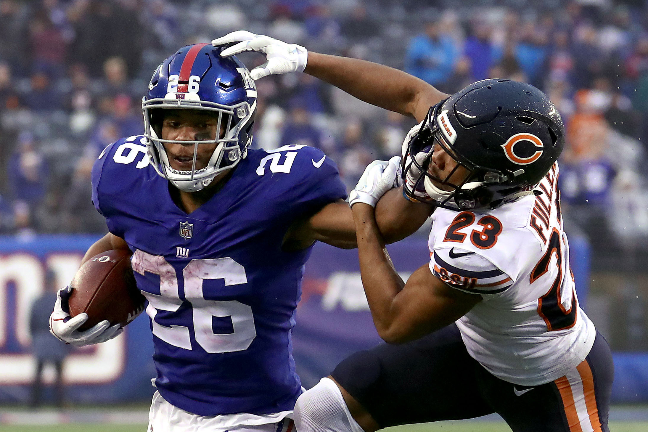 Unleashed Saquon Barkley has a thank you and milestone in mind