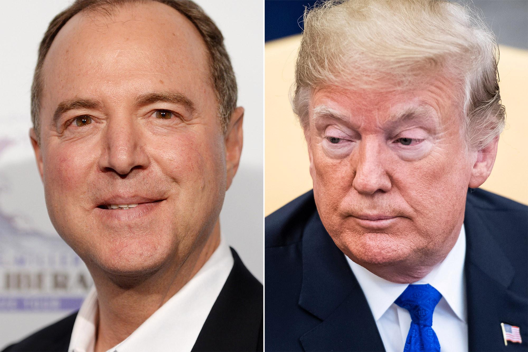 Adam Schiff threatens to probe Donald Trump's personal finances
