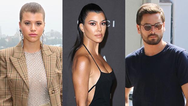 Sofia Richie Feels Disrespected By Kourtney Kardashian's Inappropriate Pics With Scott Disick