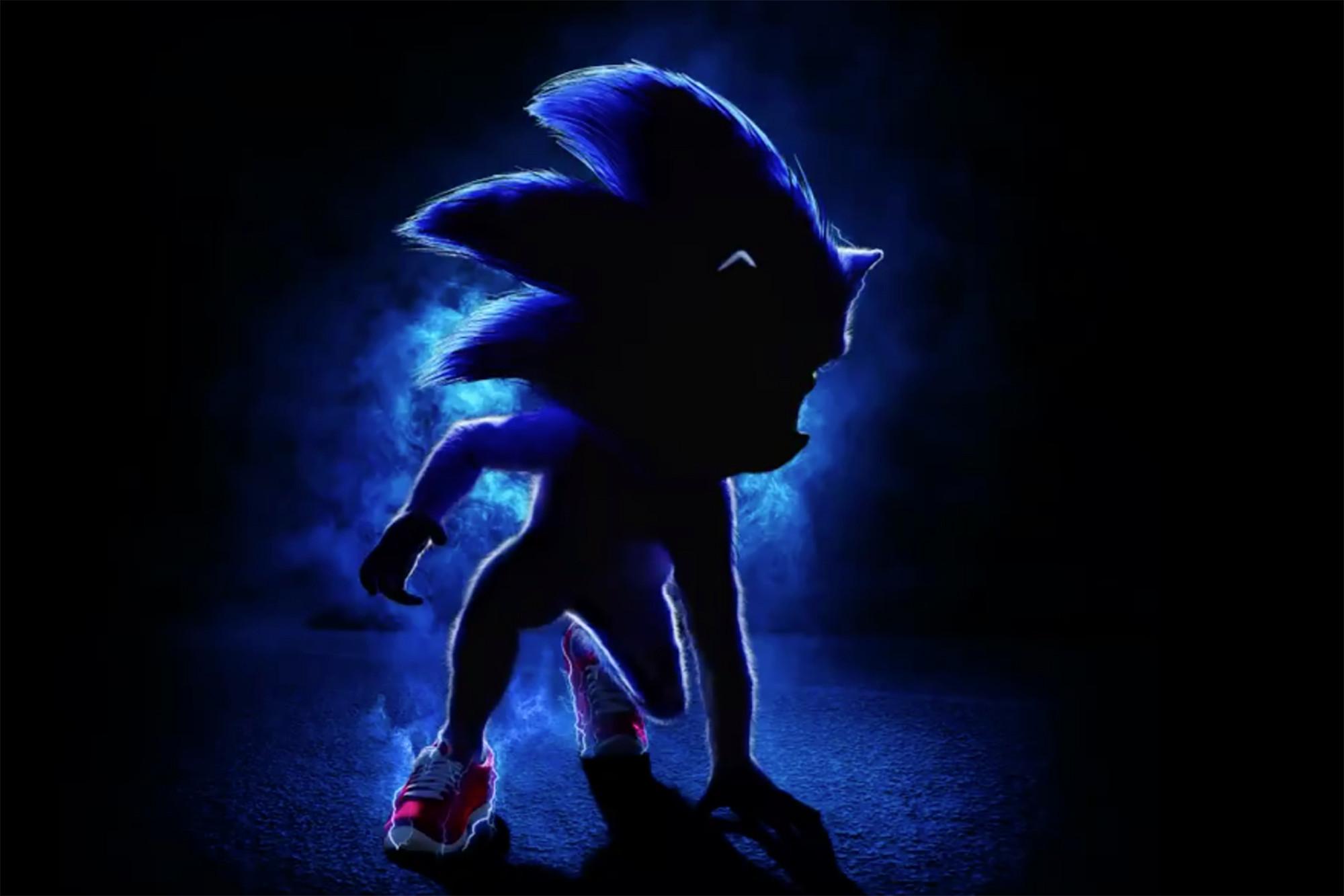 The new 'Sonic the Hedgehog' movie poster has purists peeved