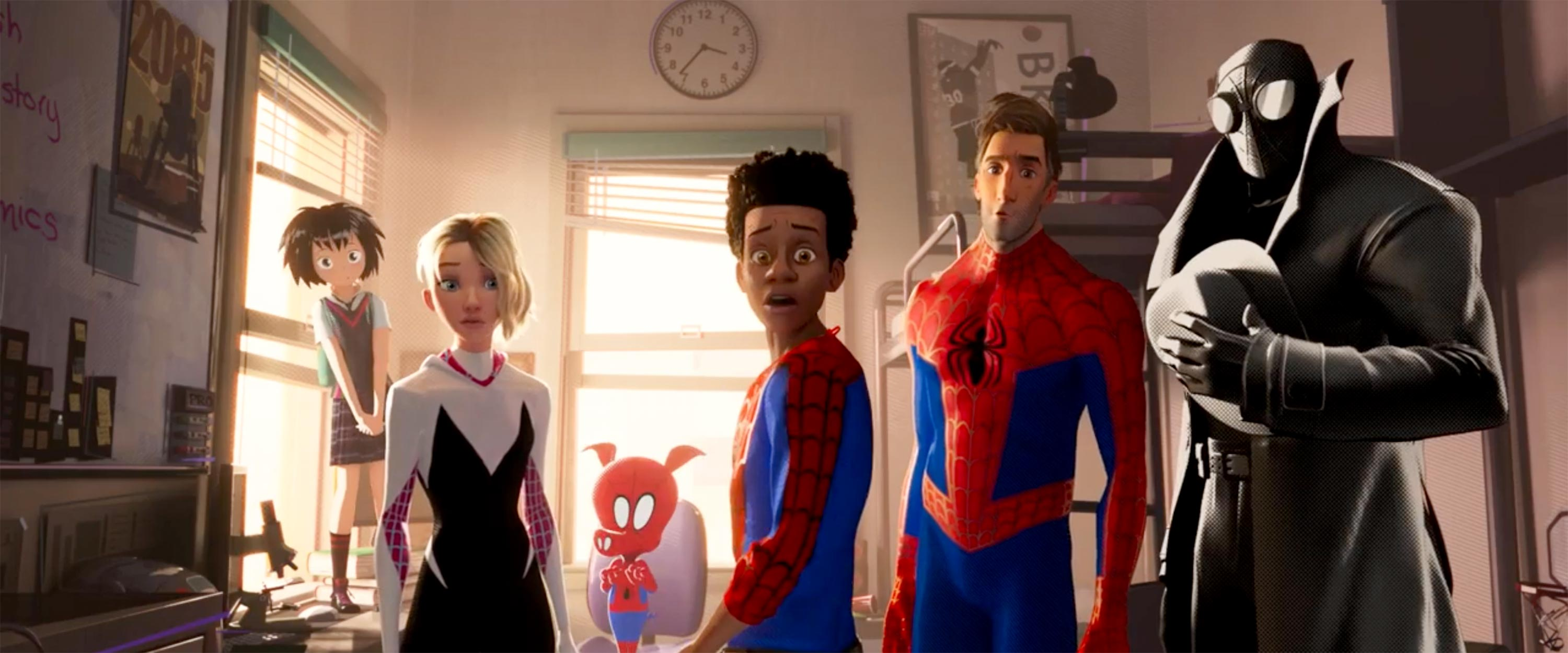 Spider-Man: Into the Spider-Verse post-credits scene explained