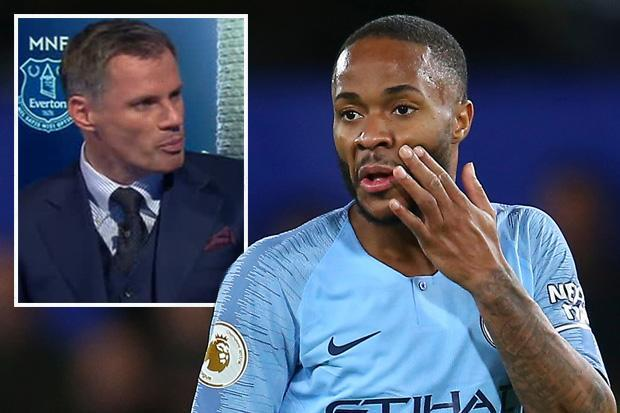 Liverpool legend Jamie Carragher believes perception of Raheem Sterling being a 'young, flash, black kid' is 'utter nonsense'