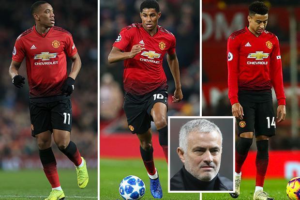 Why Man Utd boss Jose Mourinho needs to keep faith with Marcus Rashford, Anthony Martial and Jesse Lingard