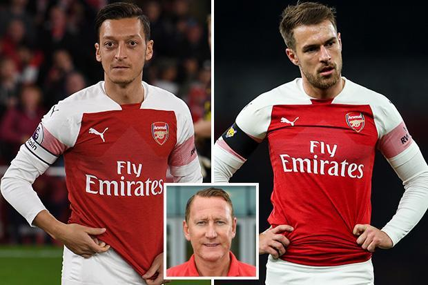 Arsenal are better off selling Mesut Ozil and keeping Aaron Ramsey, insists legend Ray Parlour
