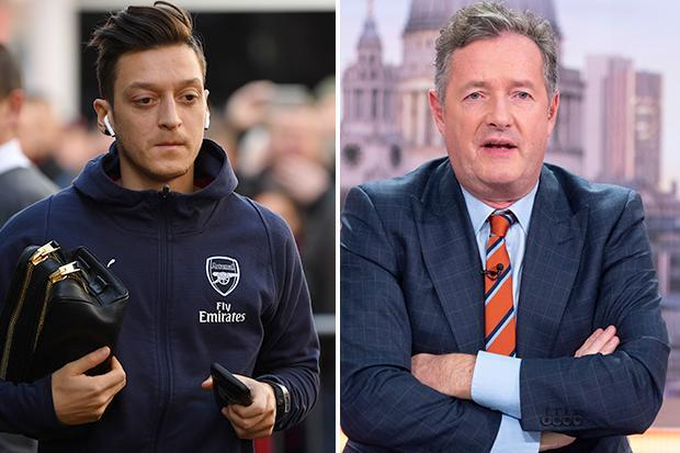 Piers Morgan berates Mesut Ozil as he urges Arsenal to sell and insists fans wouldn't shed a tear