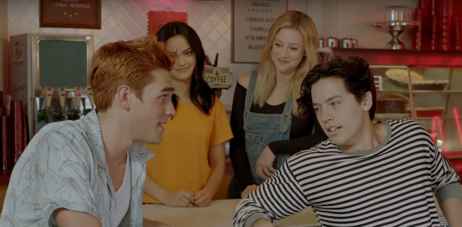 Cole Sprouse & KJ Apa Try Out Pick-Up Lines on Each Other! (Video)