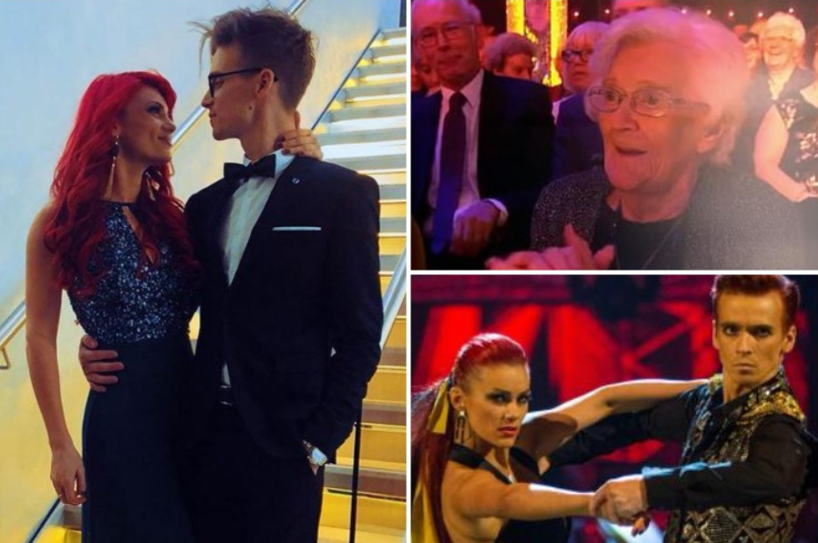 Joe Sugg's relationship with Dianne Buswell rumbled by his GRAN weeks before confirmation