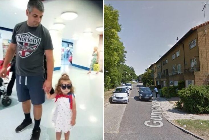 Fears for missing father, Alexandru Matei, and his toddler daughter, Antonia, last seen in Milton Keynes