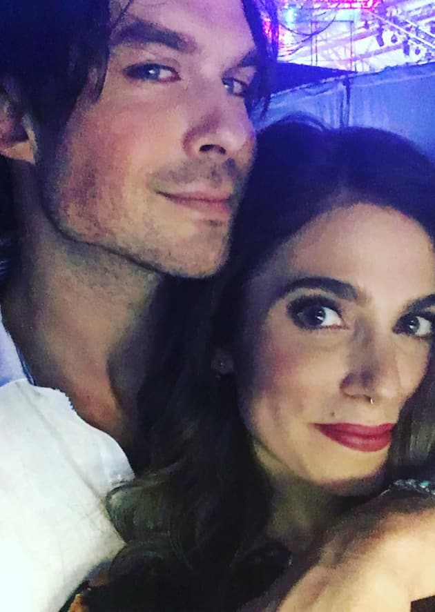 Ian Somerhalder Pays Tribute to Magical, Naked Wife
