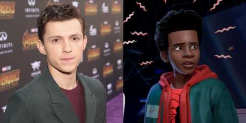 Tom Holland Reacts to 'Spider-Man: Into the Spider-Verse'
