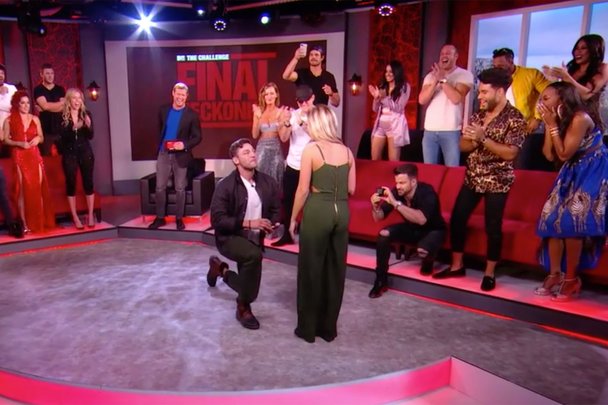 Tony Raines Gets Choked Up as He Pops the Question in The Challenge: Final Reckoning Reunion Clip