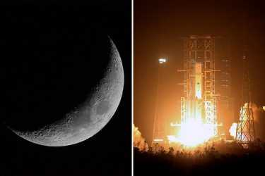 China announces plans for first ever mission to dark side of moon days after Nasa and Russia announce 'permanent' lunar bases