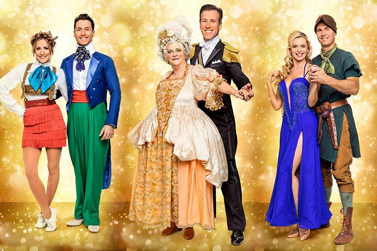 Former politician Ann Widdecombe will go to the Strictly ball — as an ugly sister