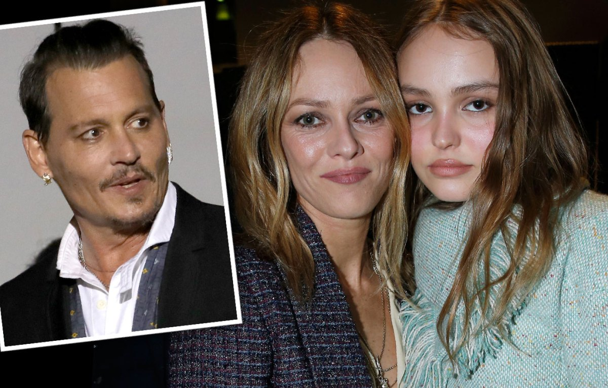 Vanessa Paradis Is Happy Johnny Depp's Daughter Lily Rose Has Chosen Showbiz Career
