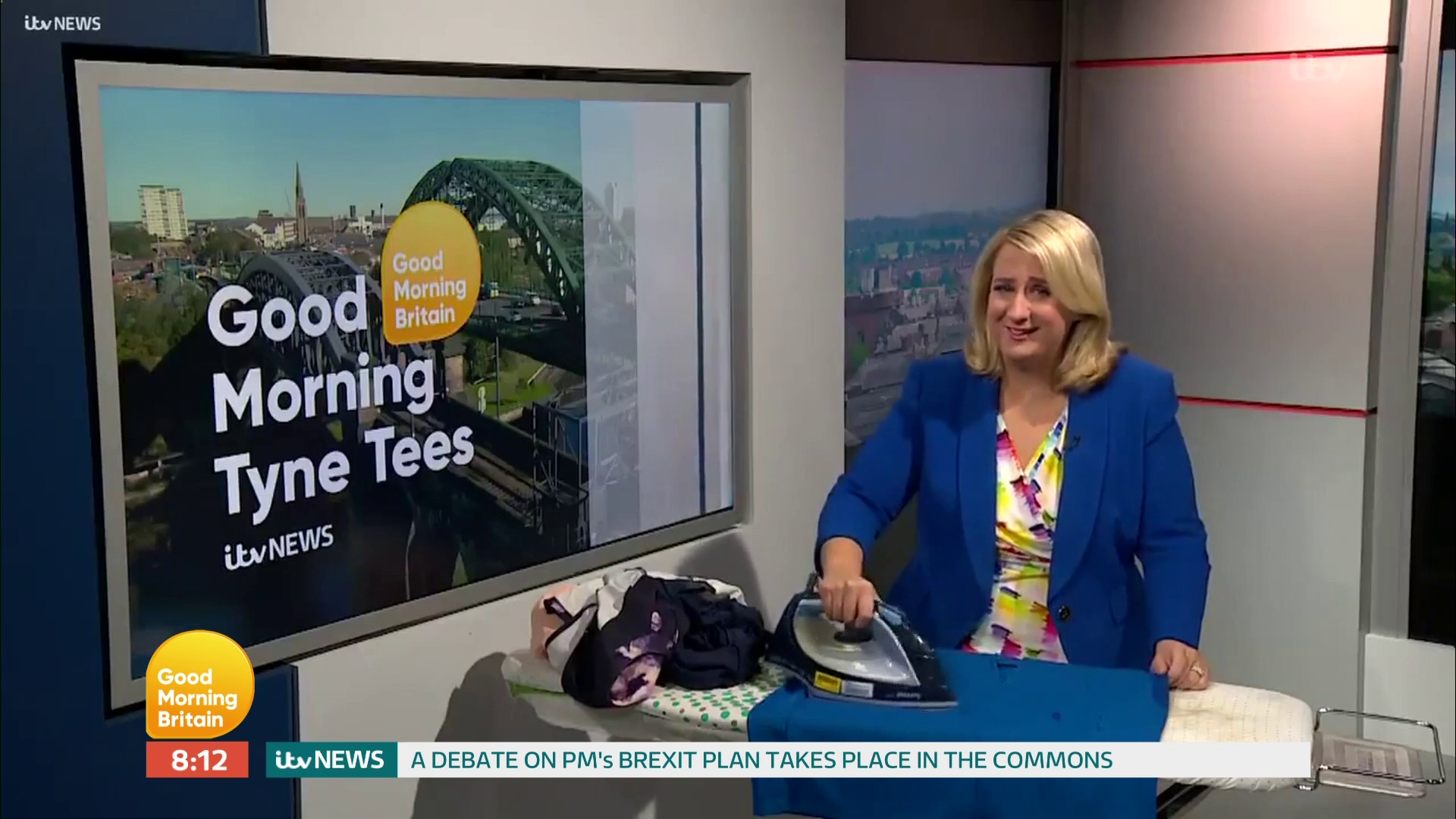 Piers Morgan mocked by regional Good Morning Britain news readers for 'rabbiting on' and delaying their segments
