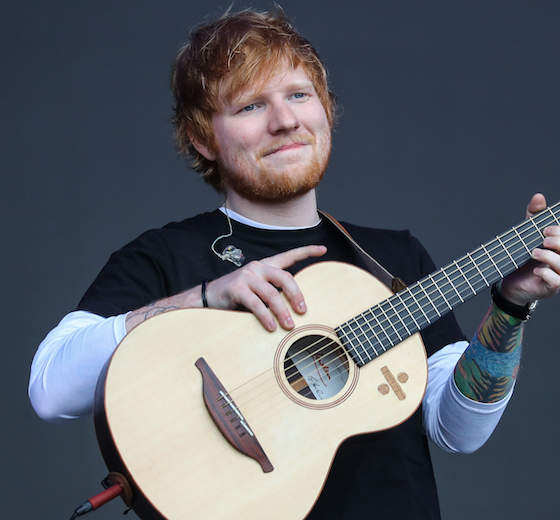 Ed Sheeran Responded To People Saying He Looked Like A Slob Next To Beyoncé