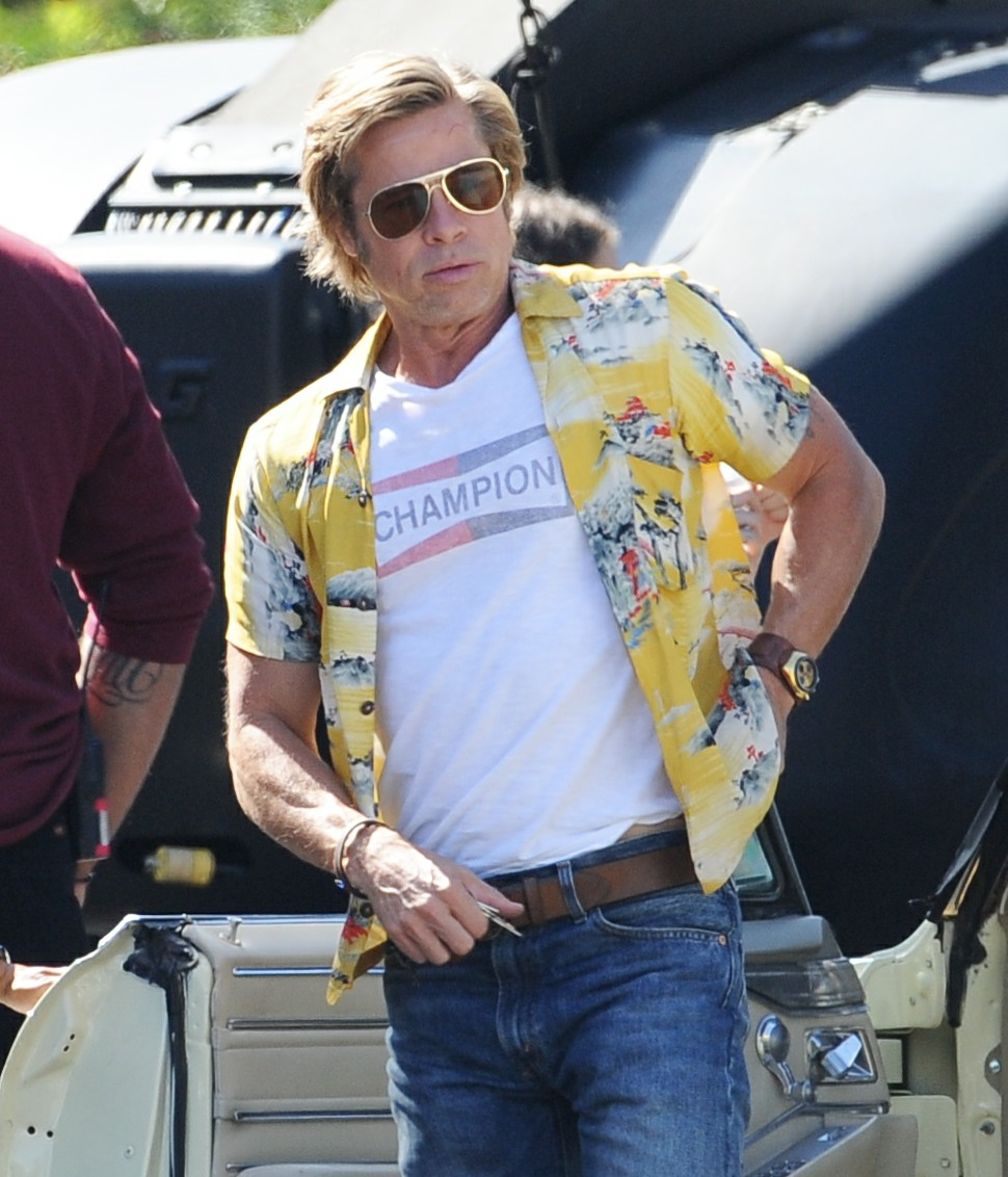 Brad Pitt had his kids overnight on his birthday, it was the first time in a month?