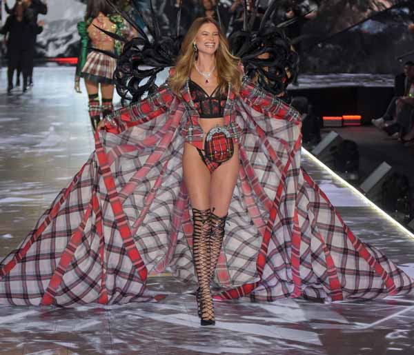 Behati Prinsloo Comes Out In Defense Of Victoria's Secret Fashion Show As It Currently Is…