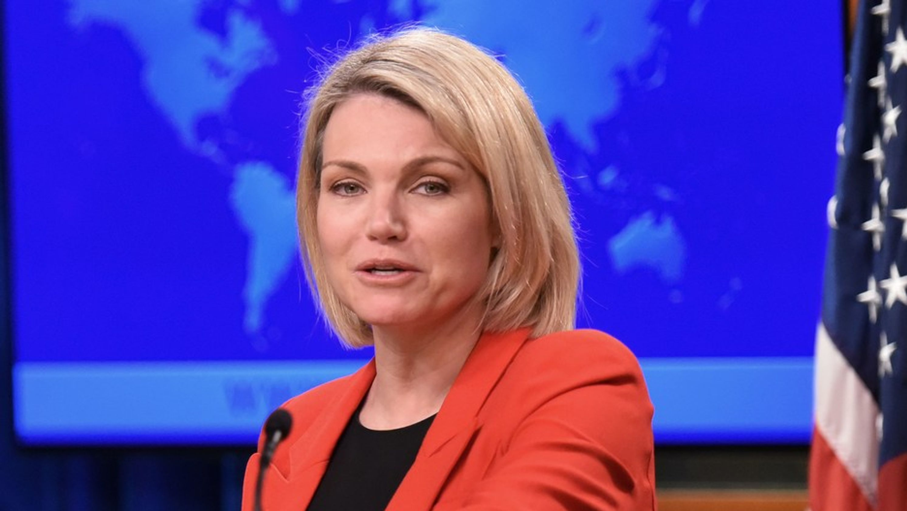 Donald Trump to name Heather Nauert as next UN ambassador, reports say