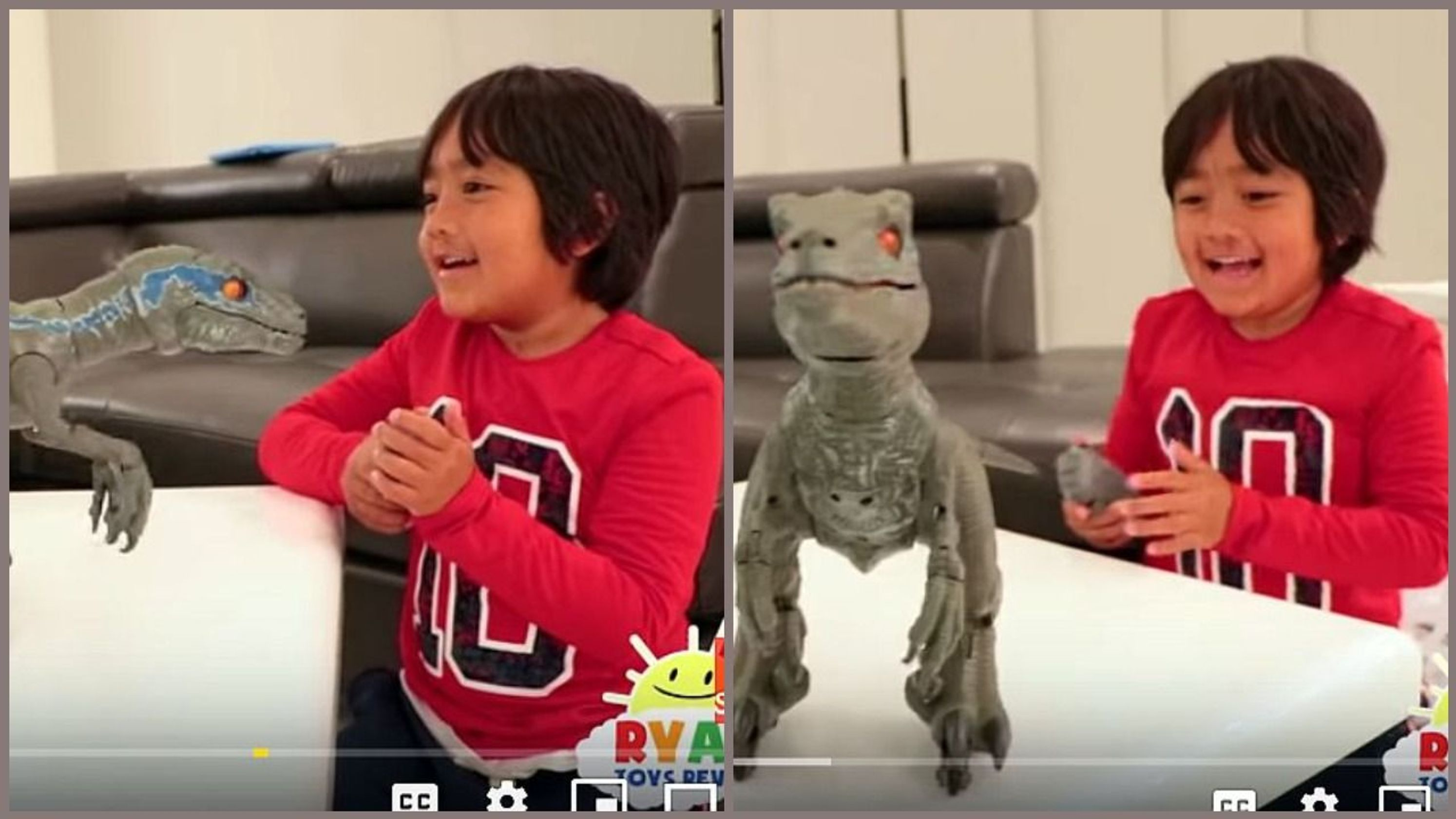YouTube's top earner is a 7-year-old who made $22 million playing with toys