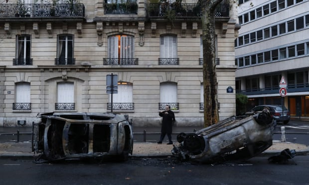 Are the French hit especially hard by fuel taxes?