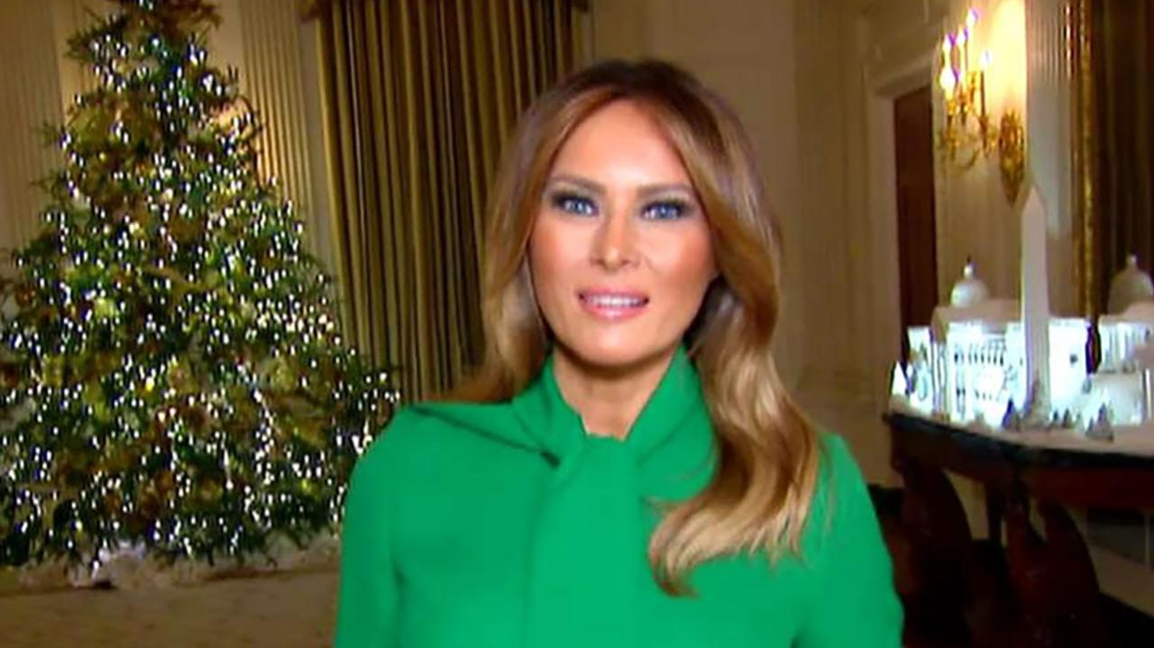 Vogue ripped as 'utter piece of garbage' for attacking Melania Trump's White House Christmas portrait