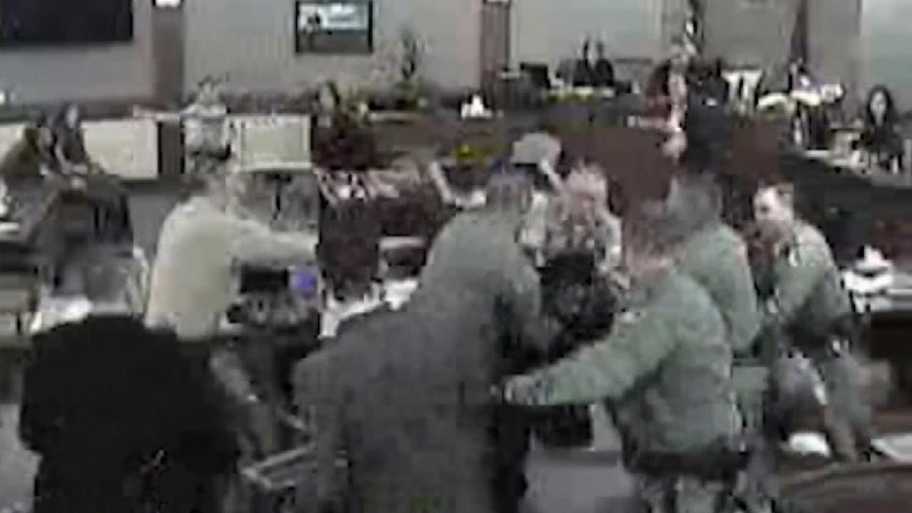 Convicted child abuser attacks prosecutors in Nevada courtroom at sentencing