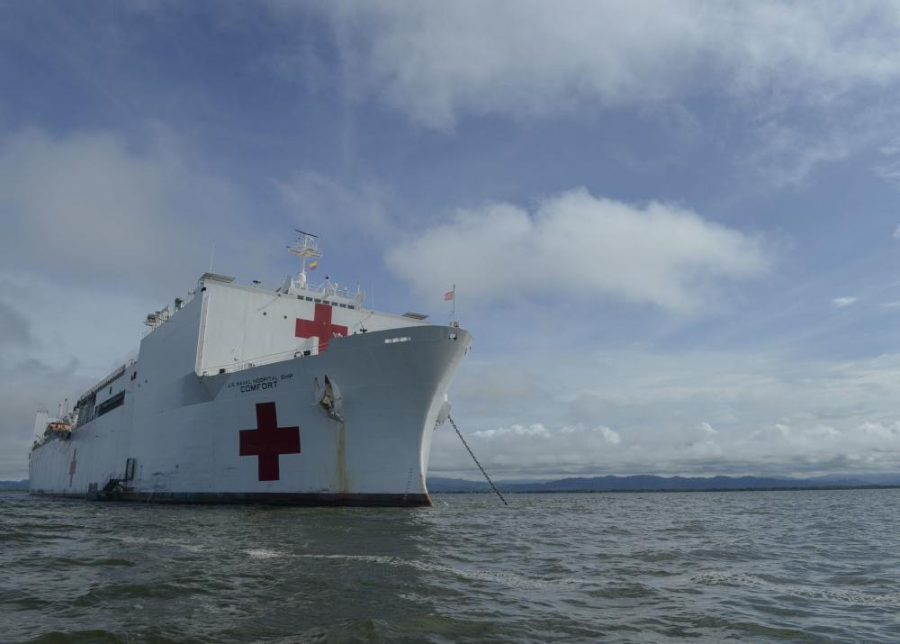 U.S. Navy offers what Venezuelan regime can't: Urgent health care