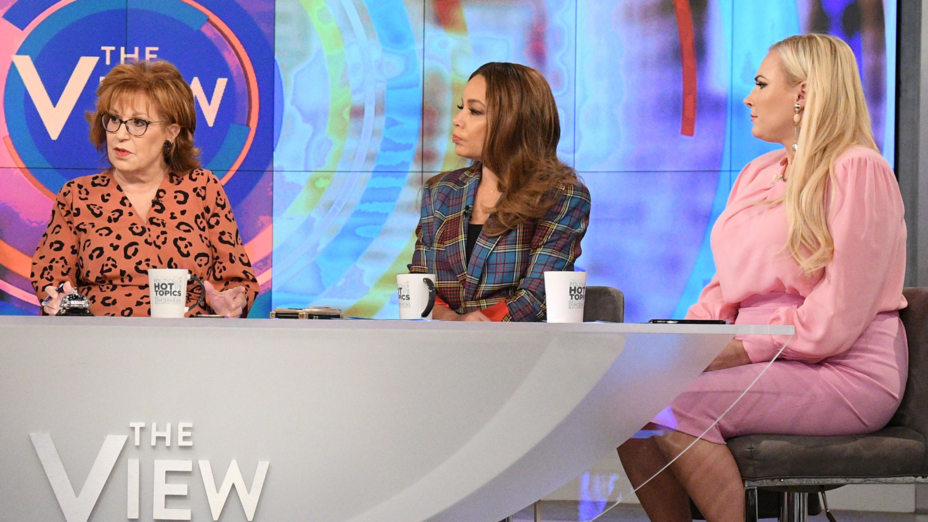 Bush tribute erupts into shouting match between Meghan McCain and Joy Behar on 'The View'