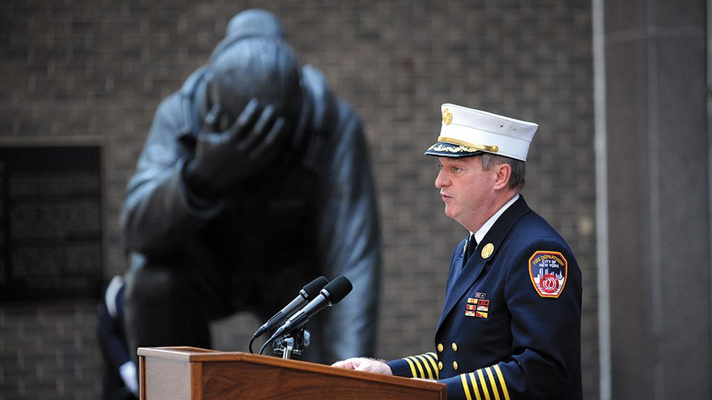 FDNY chief removed from post over 'inappropriate behavior'