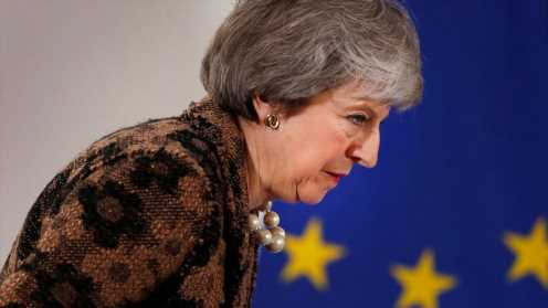 May to argue 2nd referendum would violate public trust