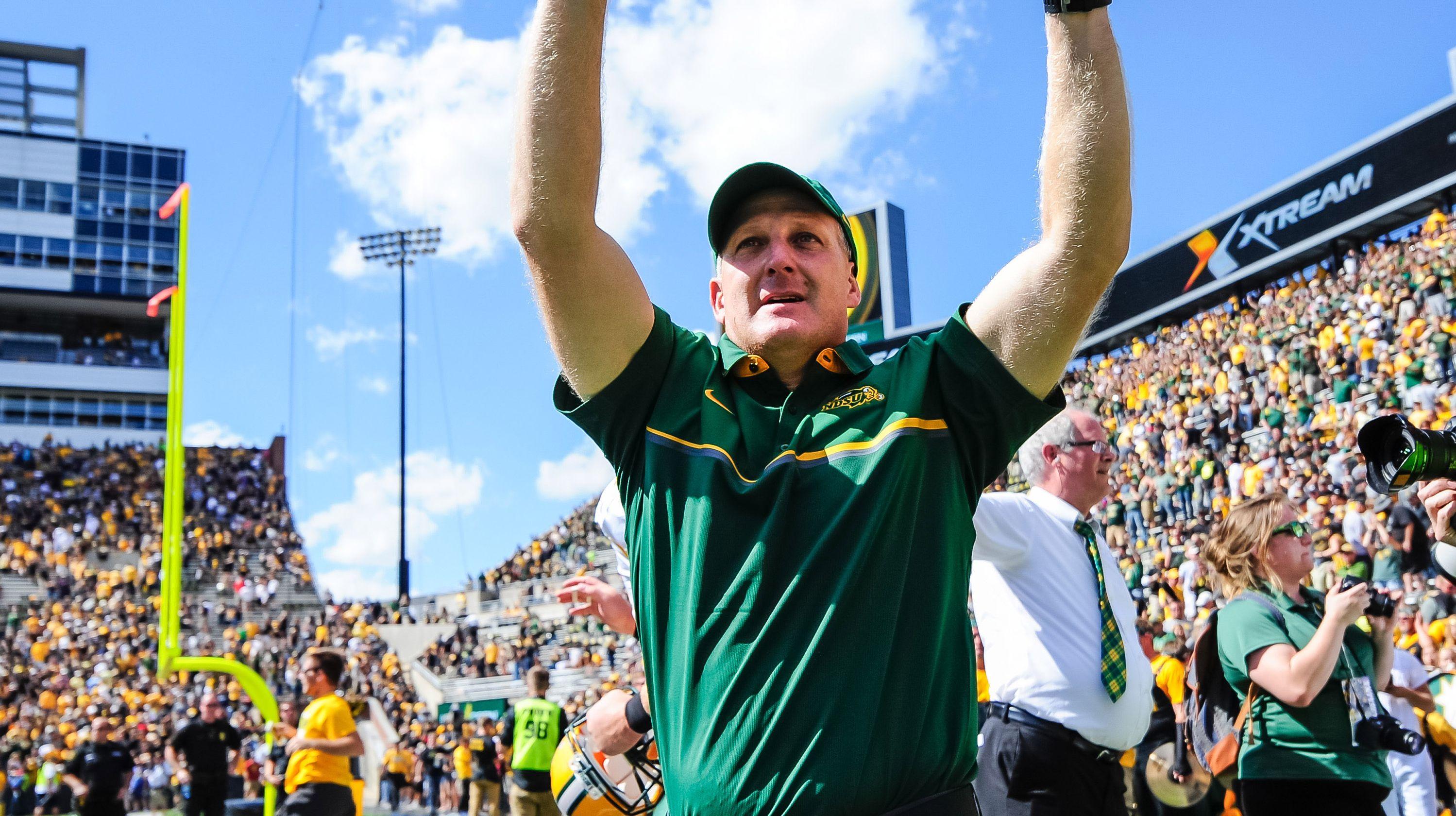 Kansas State names North Dakota State's Chris Klieman its next football coach