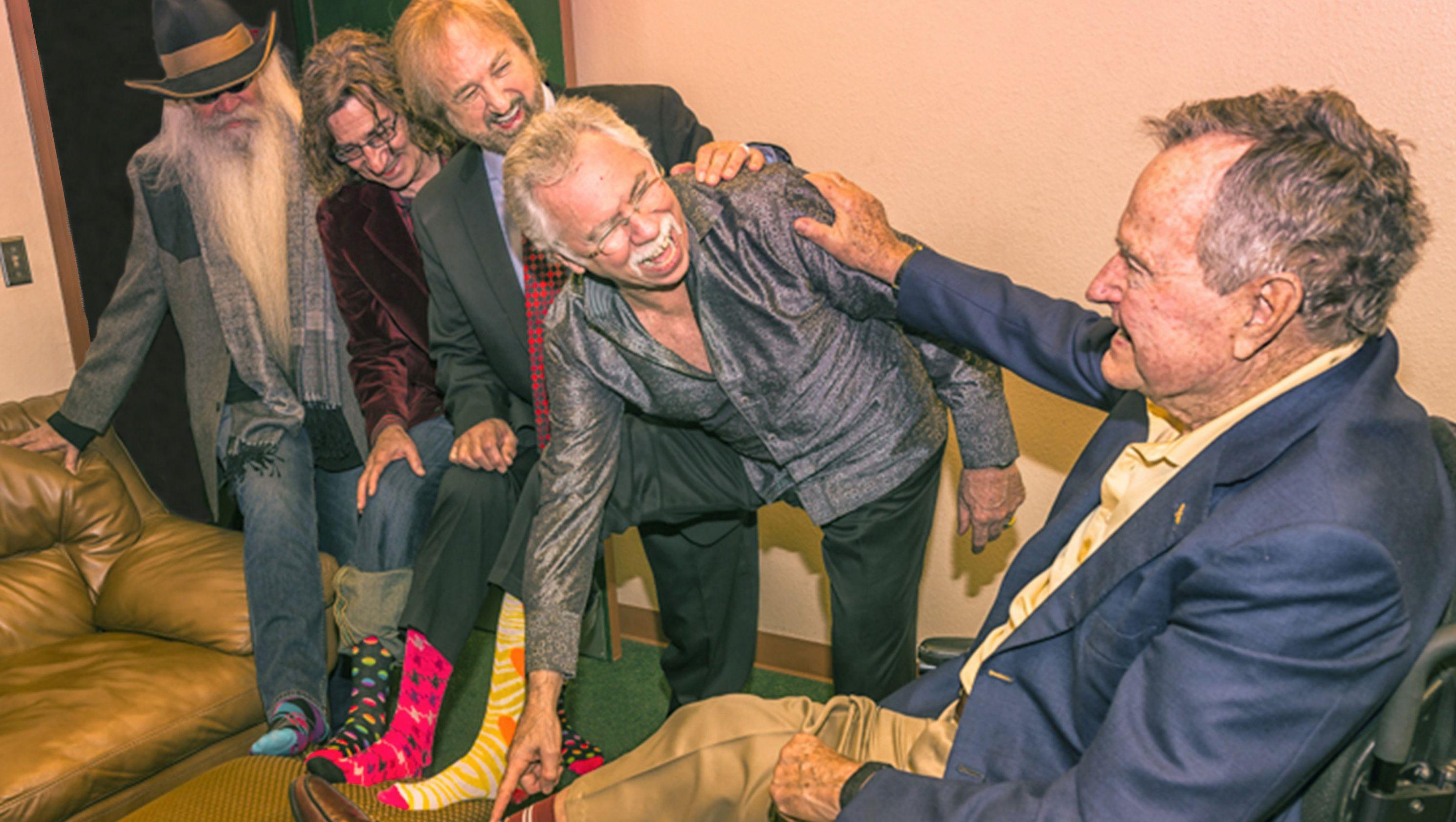 Oak Ridge Boys kept solemn promise to George H.W. Bush: 'It's what you do for friends'