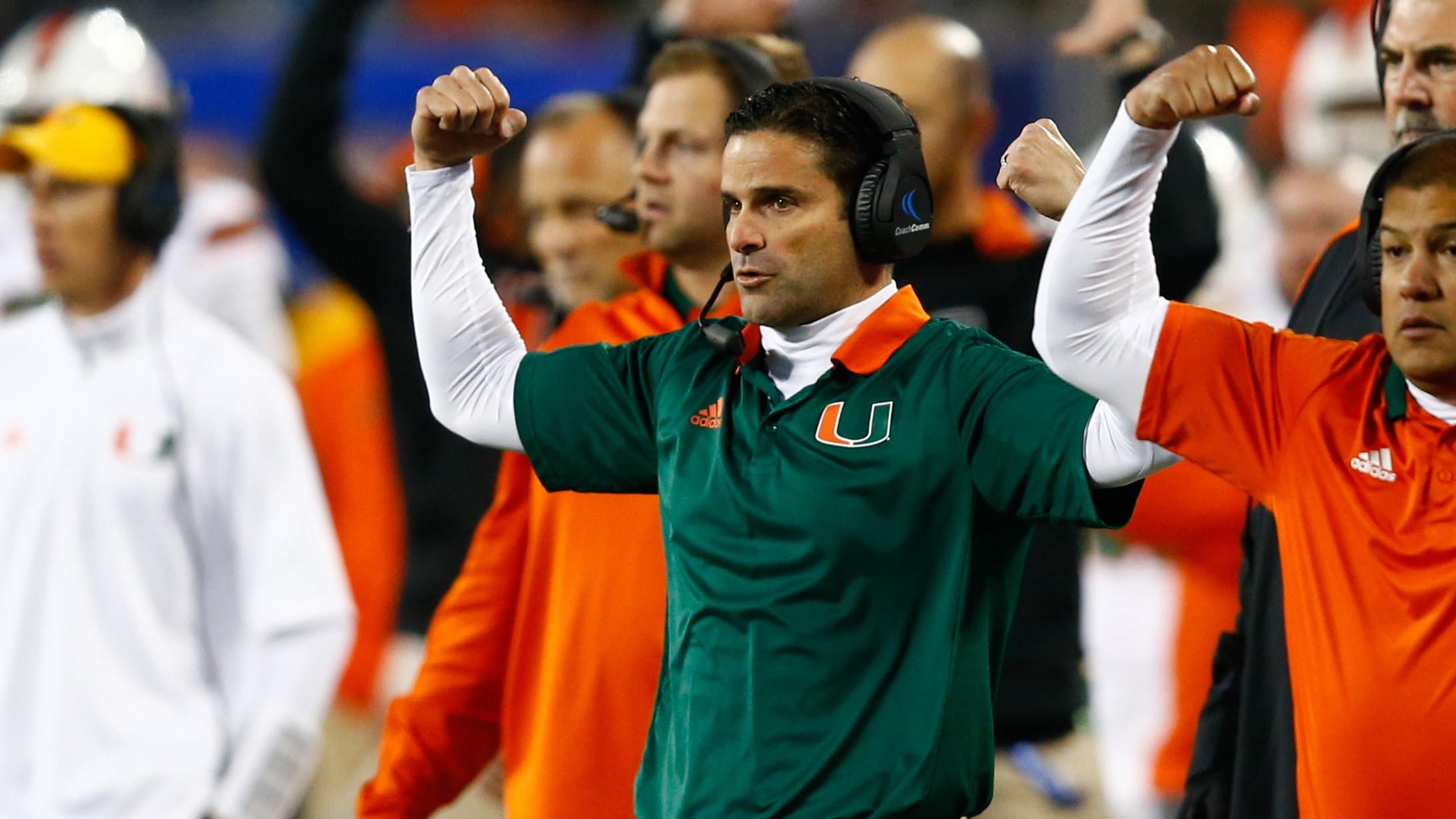 Miami hires former defensive coordinator Manny Diaz to replace Mark Richt as head coach