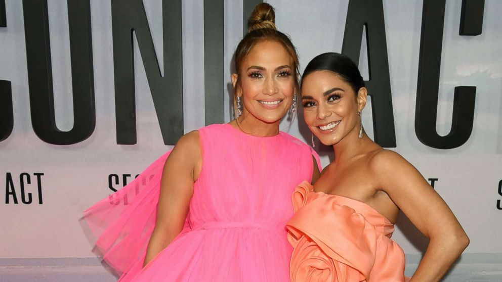 Vanessa Hudgens has a 'Second Act' in her career starring alongside J-Lo