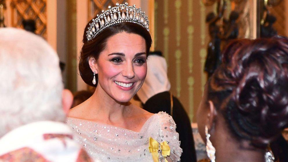 Kate Middleton goes full glamour in Princess Diana's favorite tiara