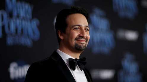 Lin-Manuel Miranda talks his 'dream come true' filming 'Mary Poppins Returns'