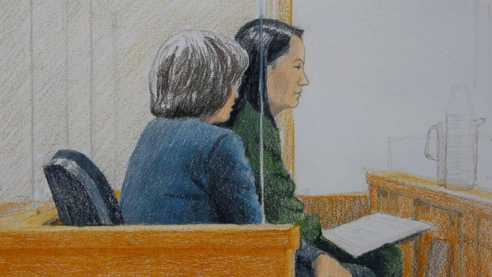 Huawei executive will remain in jail as Canadian court outlines its case